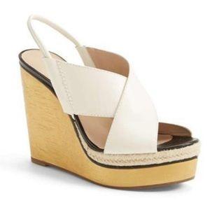 New w/ box DVF Gladys wedge sandal size 9.5